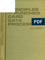 Van Ness Principles of Punched Card Data Processing 1962