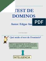 Test de Dominos