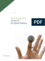 Tech Trends 2012