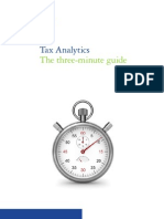 Tax analytics the 3-minute guide