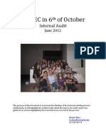 Internal Audit - aiesec 6th october