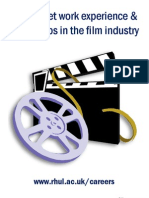 How to Get Work Experience and Internships in the Filmindustry