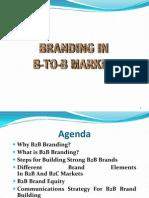 Branding for b2b