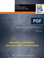 MODELO DE INTERVENCIÓN SOCIOEDUCATIVA C-HR