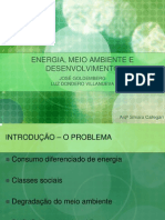 Energia Meio Ambiente e Desenvolvimento