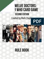 The Twelve Doctors Rulebook v2.0