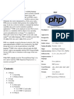 PHP - Wikipedia, The Free Encyclopedia