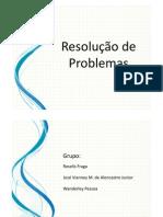 (Resolução de Problemas - Usando Inteligência Artificial)