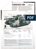 Shadowsword Datasheet