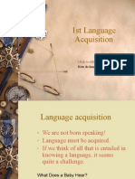 Language Acquisition Report