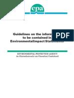 EPA Guidelines EIS 2002