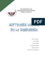 Softwares Usados en la Ingeniería