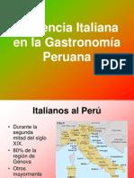 Influencia Italiana en la Gastronomía Peruana