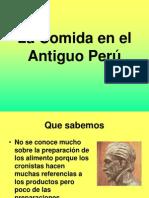La Comida en el Antiguo Perú