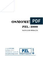 Manual Osmometro PZL1000