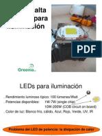 LEDs de alta potencia para iluminación