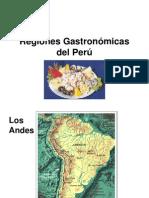 Regiones Gastronómicas del Perú
