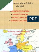 Evolución del Mapa Político Mundial