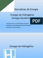 Apresentao de CRN - Energia Do Hidrognio e Geotrmica