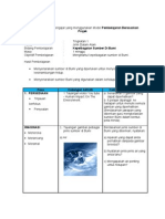 Contoh Persediaan Mengajar Yang Menggunakan Model Projek
