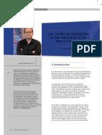 Distribucion Gas natural tarifas y costos