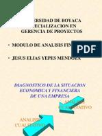 Módulo Análisis Financiero