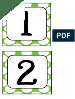 Green Polka Numbers