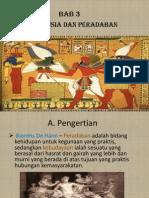 ISBD Bab 3 Manusia Dan Peradaban