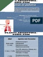 Neumonias en Pediatria