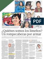 Limeños buscan su identidad cultural