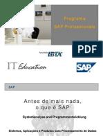 Programa SAP Profissionais