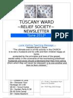 June 2012 RS Newsletter