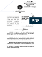 Comelec Resolution 9485