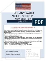 July 2012 RS Newsletter