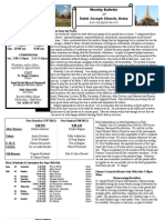 St. Joseph's July 1, 2012 Bulletin