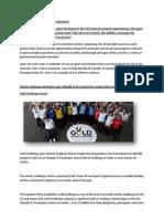 AO1 Sport Development and Co Ordination