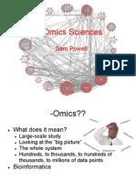 Omics Sciences[1].Pptx