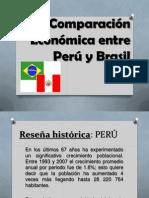 Comparacion Economica Entre Peru y Brasil