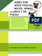 Seminario Lesiones Por Agentes y Armas