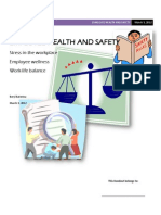 Handout-employee Health and Safety