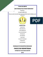 Tugas Evaluasi Standar Pelayanan Kebidanan[1]