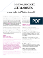 Space Marines 6th(Update) Ed V1