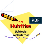 6.3 Malnutrition