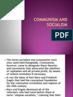 Communism and Socialism-report
