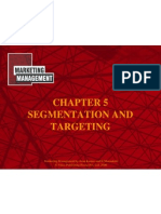 CHAPTER 05 (Segmentation & Targetting )