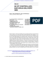 22 Design of Controlled-Release Drug Delivery Systems