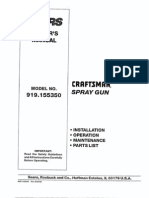 Craftsman Sprayer - L0707075