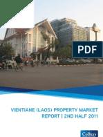 Vientiane (Laos) Property Market Report 2nd Half 2011 w