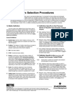 Actuator Selection Procedure