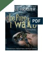 Before I Wake Anne Frasier